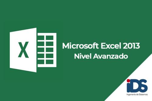 Curso de Microsoft Excel 2013 - Nivel Avanzado - Ingeniería de Sistemas