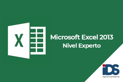 Curso de Microsoft Excel 2013 - Nivel Experto - Ingeniería de Sistemas